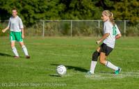 4694 Girls JV Soccer v NW-School 100814