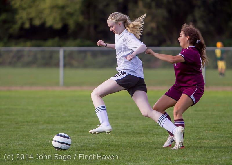4704 Girls JV Soccer v NW-School 100814