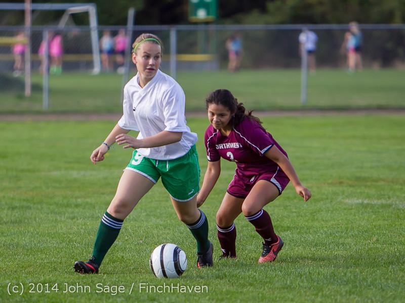 4731 Girls JV Soccer v NW-School 100814