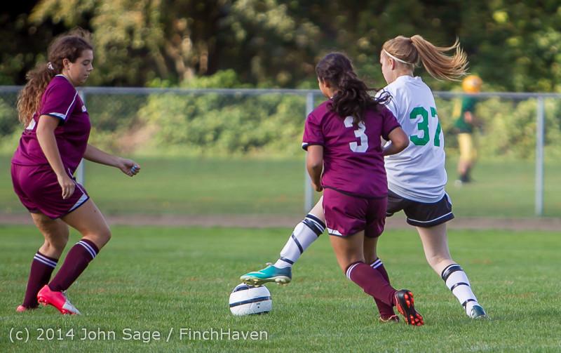 4738 Girls JV Soccer v NW-School 100814