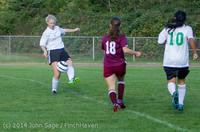 4802 Girls JV Soccer v NW-School 100814