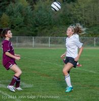 4846 Girls JV Soccer v NW-School 100814