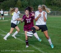 4851 Girls JV Soccer v NW-School 100814