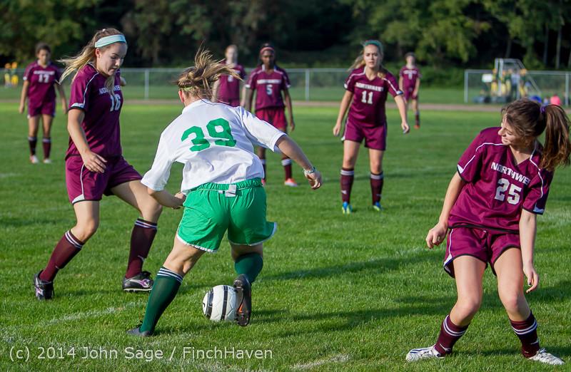 4867 Girls JV Soccer v NW-School 100814