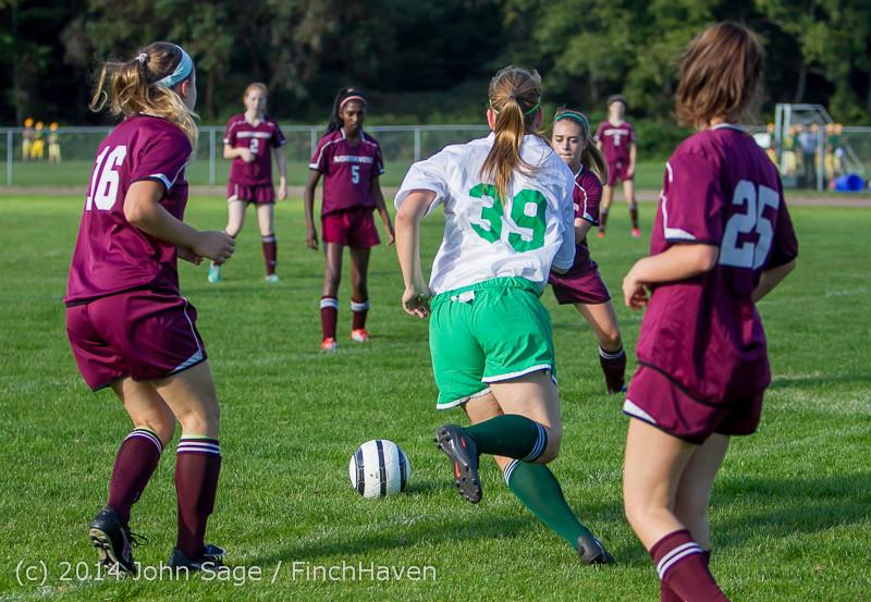 4871 Girls JV Soccer v NW-School 100814