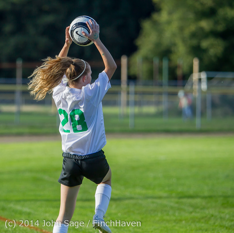 4877 Girls JV Soccer v NW-School 100814