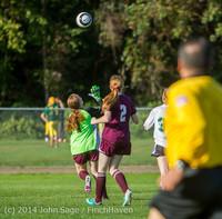 4898 Girls JV Soccer v NW-School 100814