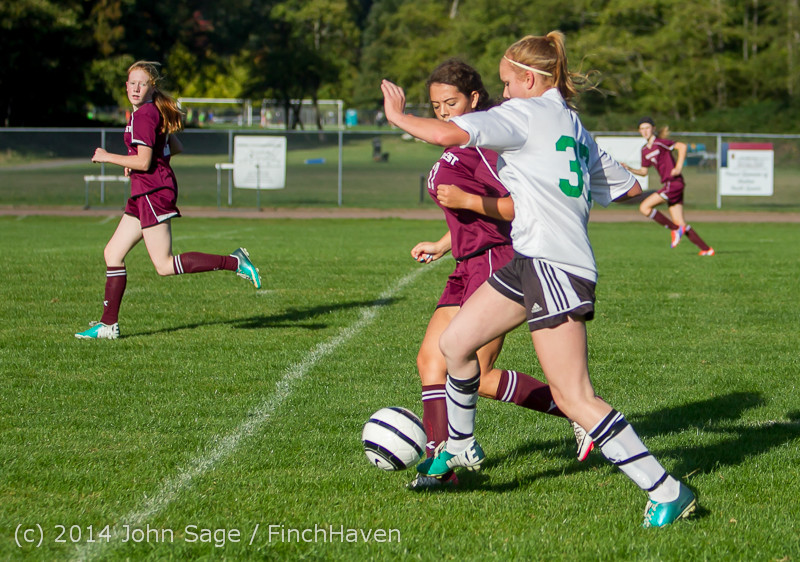 4908 Girls JV Soccer v NW-School 100814