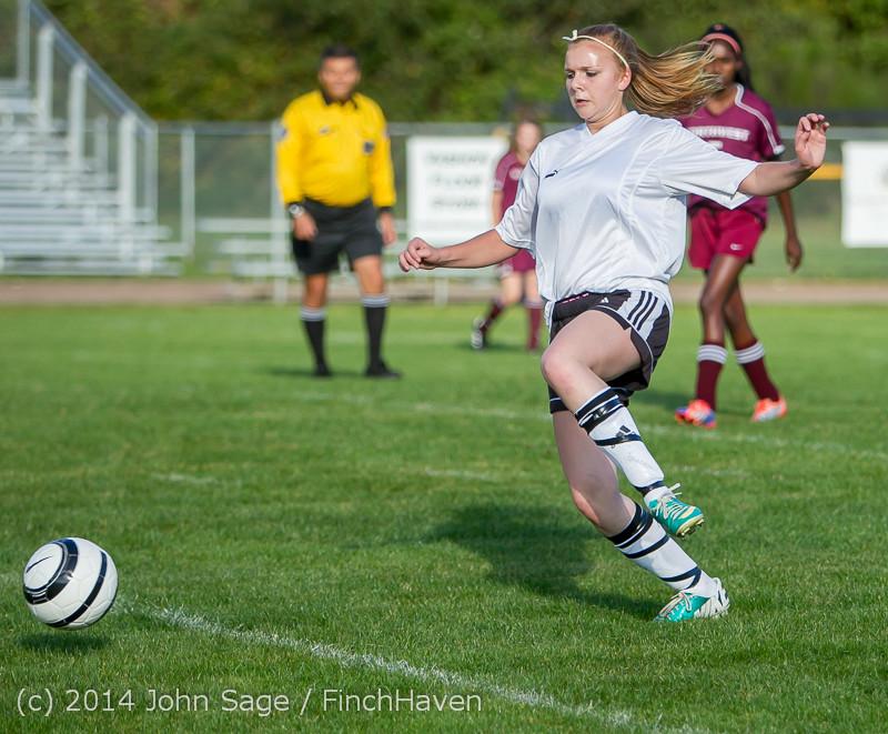 4957 Girls JV Soccer v NW-School 100814