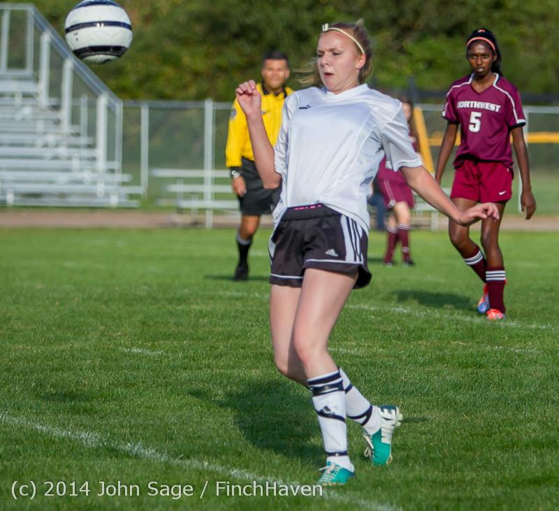 4959 Girls JV Soccer v NW-School 100814