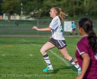 4963 Girls JV Soccer v NW-School 100814