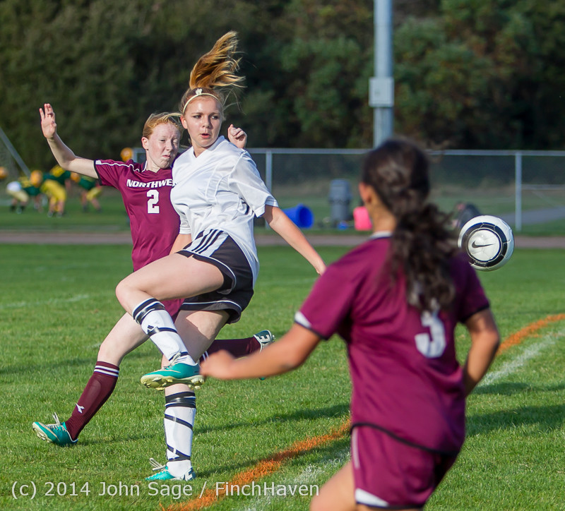 4972 Girls JV Soccer v NW-School 100814