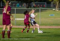 5004 Girls JV Soccer v NW-School 100814