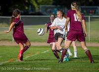 5010 Girls JV Soccer v NW-School 100814