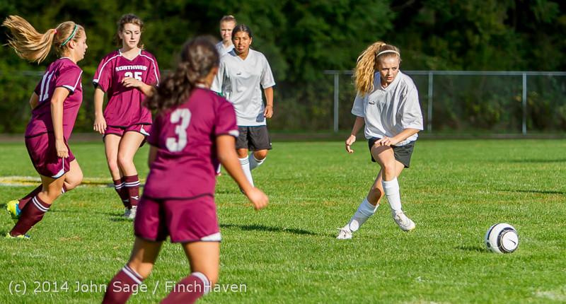 5039 Girls JV Soccer v NW-School 100814