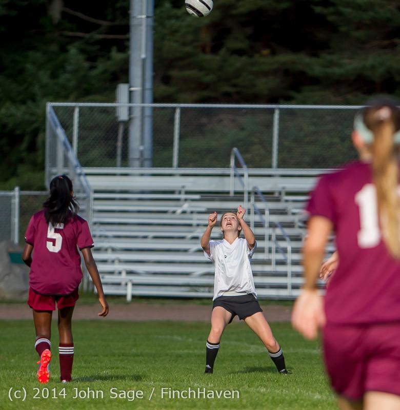 5070 Girls JV Soccer v NW-School 100814