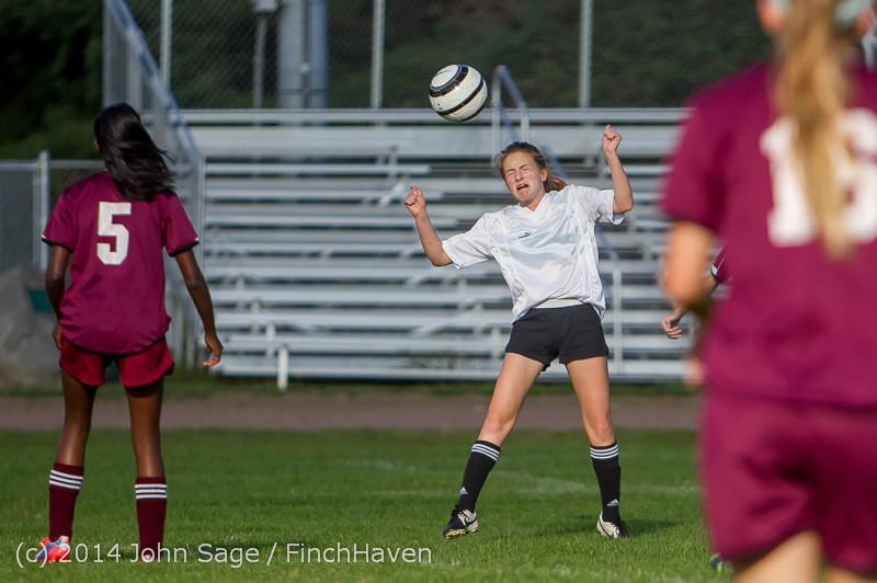 5072 Girls JV Soccer v NW-School 100814