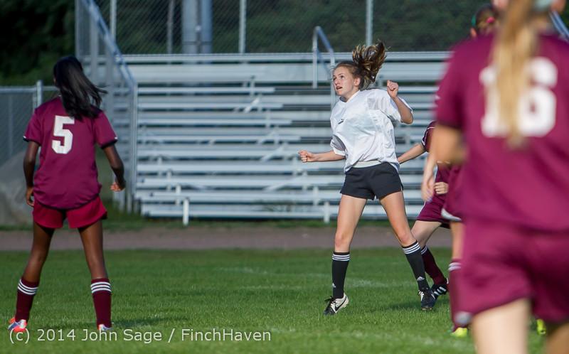 5074 Girls JV Soccer v NW-School 100814