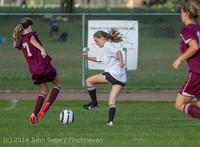 5078 Girls JV Soccer v NW-School 100814