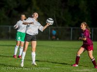 5104 Girls JV Soccer v NW-School 100814