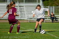 5116 Girls JV Soccer v NW-School 100814