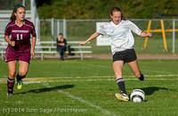 5120 Girls JV Soccer v NW-School 100814