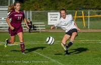 5122 Girls JV Soccer v NW-School 100814