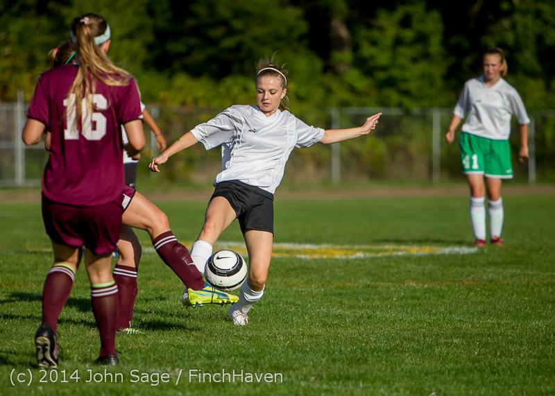 5152 Girls JV Soccer v NW-School 100814