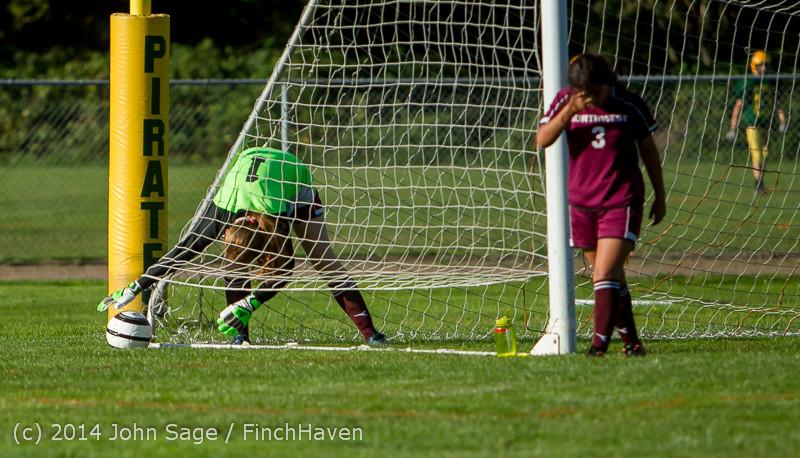 5175 Girls JV Soccer v NW-School 100814