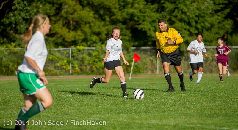 5223 Girls JV Soccer v NW-School 100814