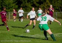 5230 Girls JV Soccer v NW-School 100814