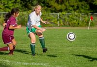 5240 Girls JV Soccer v NW-School 100814