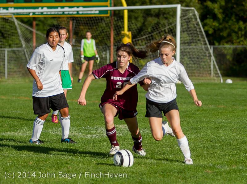 5241 Girls JV Soccer v NW-School 100814