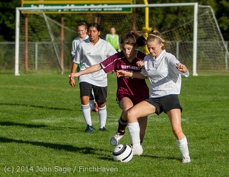 5246 Girls JV Soccer v NW-School 100814
