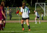 5261 Girls JV Soccer v NW-School 100814