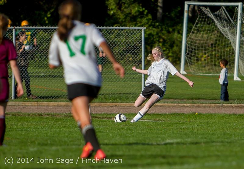 5266 Girls JV Soccer v NW-School 100814