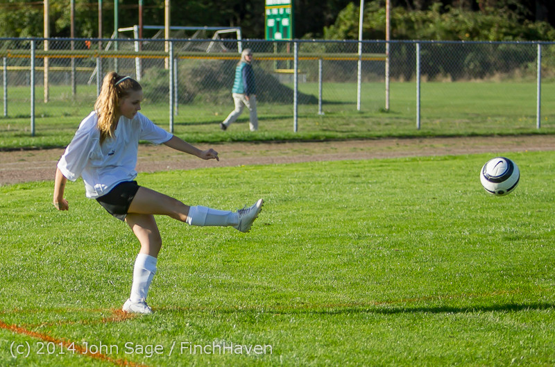 5329 Girls JV Soccer v NW-School 100814