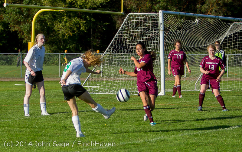 5341 Girls JV Soccer v NW-School 100814