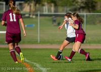5361 Girls JV Soccer v NW-School 100814