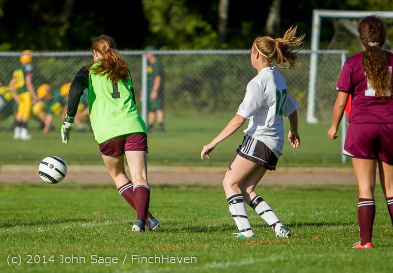 5380 Girls JV Soccer v NW-School 100814