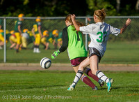 5382 Girls JV Soccer v NW-School 100814