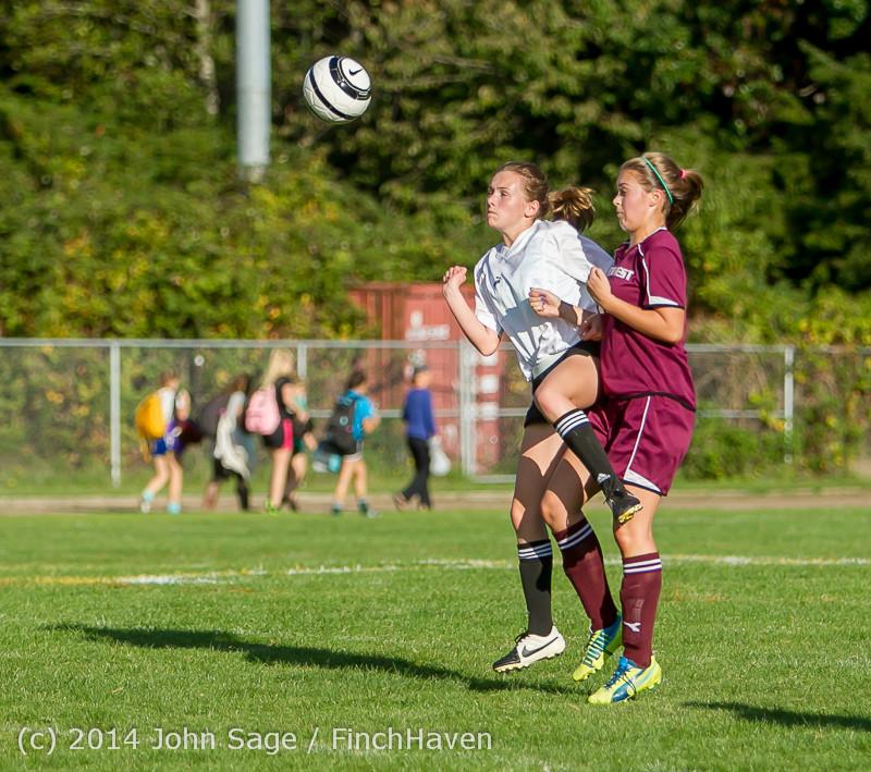 5394 Girls JV Soccer v NW-School 100814