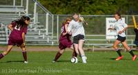 5421 Girls JV Soccer v NW-School 100814