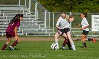 5423 Girls JV Soccer v NW-School 100814