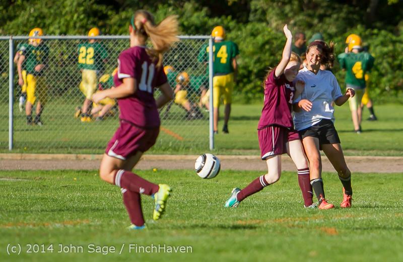 5460 Girls JV Soccer v NW-School 100814