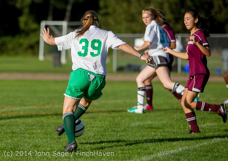 5488 Girls JV Soccer v NW-School 100814