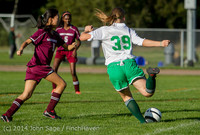 5493 Girls JV Soccer v NW-School 100814