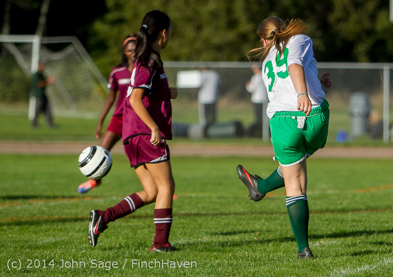5495 Girls JV Soccer v NW-School 100814