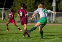 5497 Girls JV Soccer v NW-School 100814