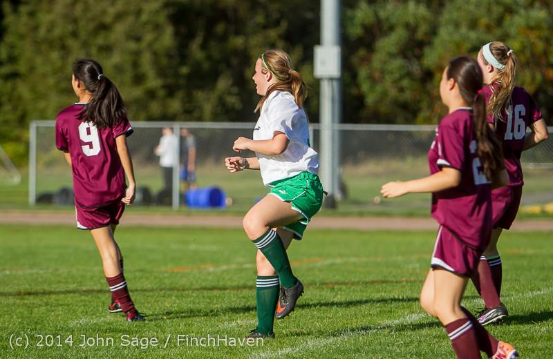 5500 Girls JV Soccer v NW-School 100814